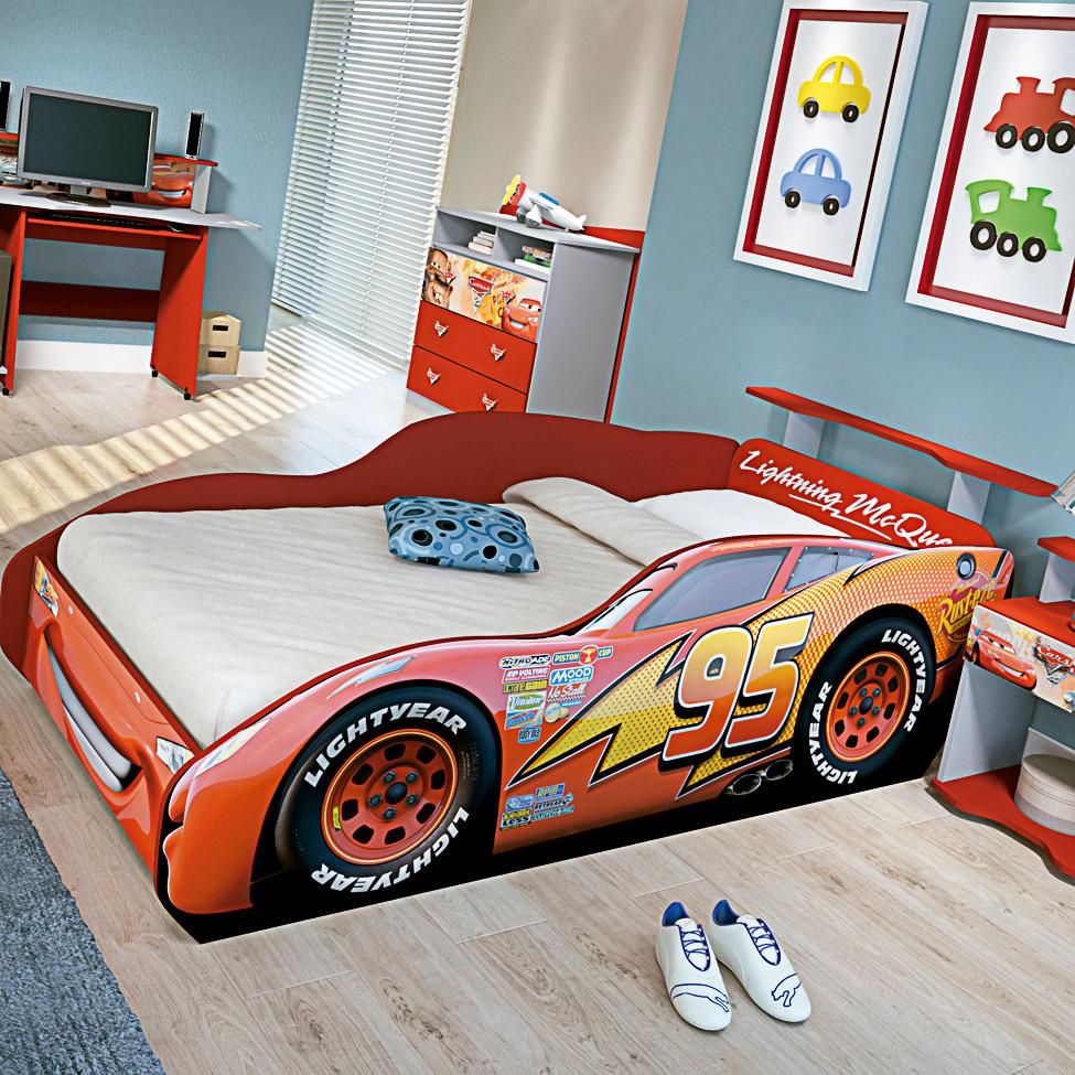 Camas infantis tricae cama carro e pura magia m e de 2 - Cama para nino de 2 anos ...